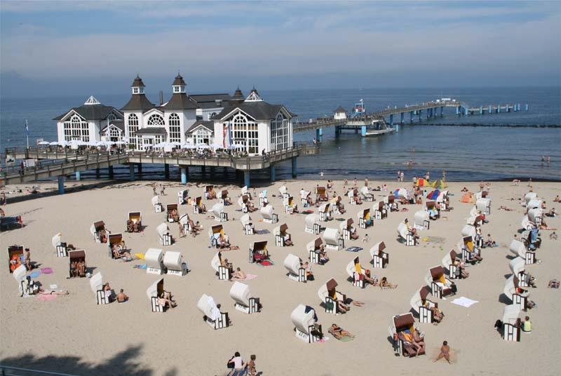 Strand Sellin auf Rügen