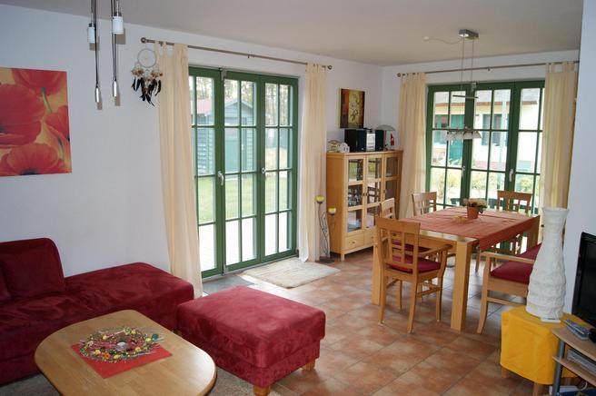 Familienurlaub Rügen - Ferienhaus Glowe für 6 Personen - Wohnbereich