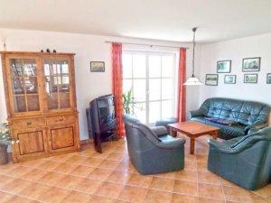 Familienurlaub Rügen, Ferienhaus in Putbus für 7 Personen - Wohnzimmer