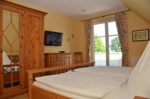 Ferienhaus Rügen mit Meerblick in Gager für 6 Personen - Schlafzimmer