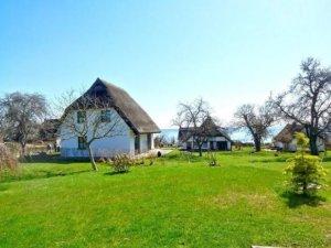 Ferienhaus Rügen mit Meerblick in Putbus für 6 Personen - Garten