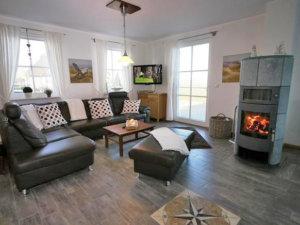 Ferienhaus Rügen mit Meerblick in Ummanz für 8 Personen - Wohnbereich