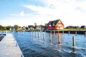 Ferienhaus Rügen mit Hund 4 Personen Vieregge - Bootsliegeplätze