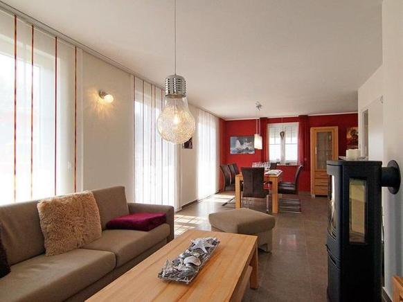 Ferienhaus Rügen mit Hund in Glowe für 10 Personen - Wohnbereich