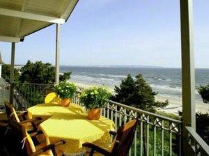 Ferienwohnung Rügen Binz für 4 Personen - Balkon
