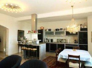 Ferienwohnung Rügen Binz für 4 Personen - Küche und Essbereich