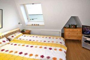 Ferienwohnung Rügen Breege für 6 Personen - Schlafzimmer