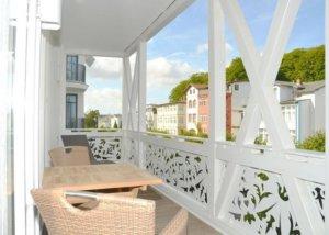 Ferienwohnung Rügen Sellin für 4 Personen - Balkon