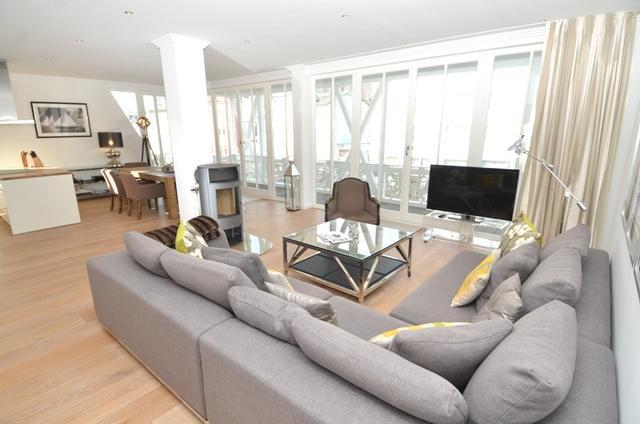 Ferienwohnung Rügen Sellin für 4 Personen - Wohnbereich