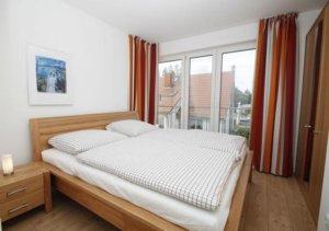 Ferienwohnung Rügen Wiek für 5 Personen - Schlafzimmer