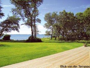 Luxus Ferienhaus auf Rügen für 12 Personen in Wiek - Garten