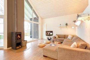 Luxus Ferienhaus auf Rügen für 12 Personen in Wiek - Wohnbereich