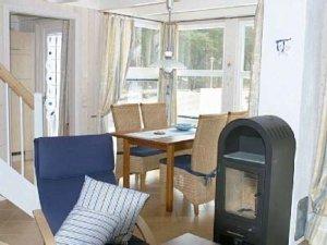 Rügen Ferienhaus am Strand für 4 Personen in Baabe - Wohnbereich
