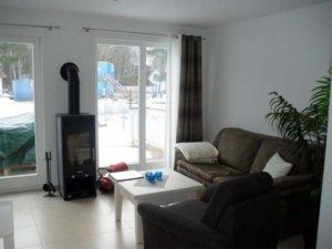 Rügen Ferienhaus am Strand für 6 Personen in Glowe - Wohnbereich