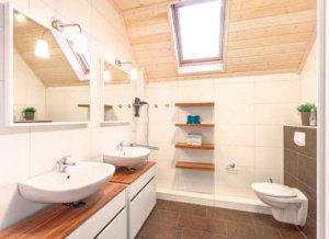 Rügen Ferienhaus am Strand für 8 Personen in Juliusruh - Badezimmer