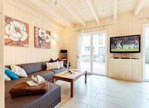 Rügen Ferienhaus am Strand für 8 Personen in Juliusruh - Wohnbereich