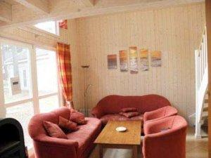Rügen Ferienhaus in Baabe Wohnzimmer